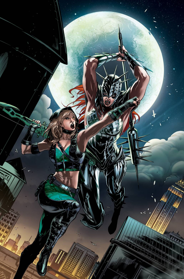 Robyn Hood: Iron Maiden #2 (White Cover)