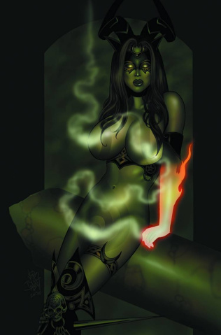 Tarot: Witch of the Black Rose #82