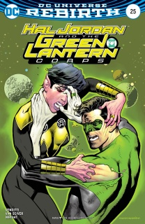 Hal Jordan and The Green Lantern Corps #25 (Variant Cover)