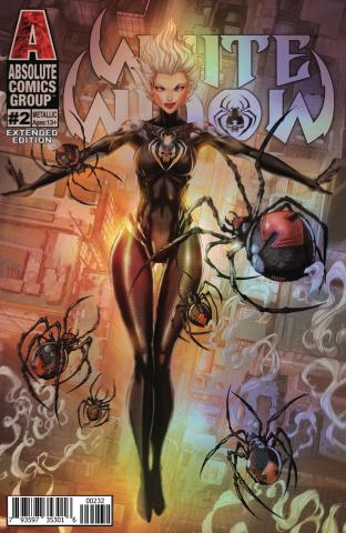 White Widow #2 (Holographic Metallic Ink 2nd Printing)