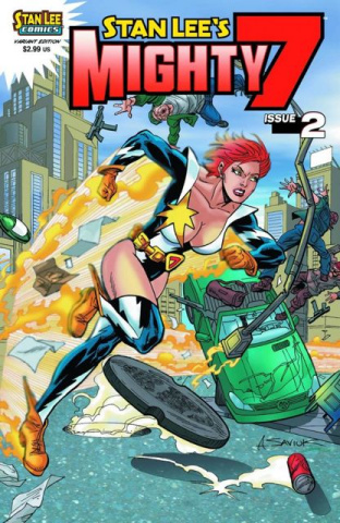 Stan Lee's Mighty 7 #2 (Saviuk Cover)