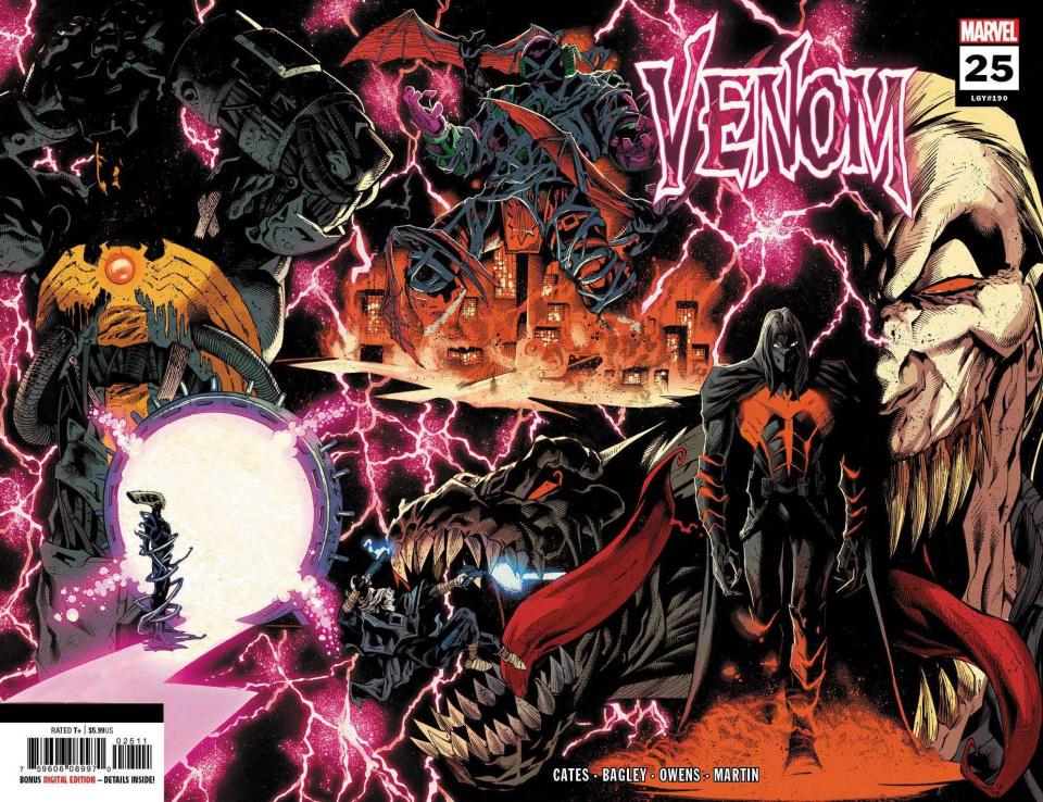 Venom #25 (Stegman 2nd Printing)