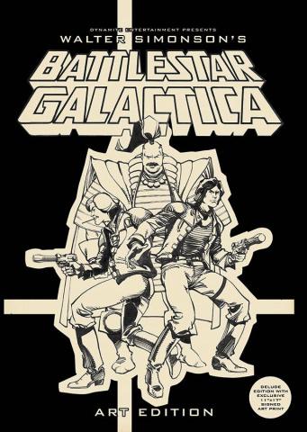 Walter Simonson's Battlestar Galactica Artist Edition (Signed)