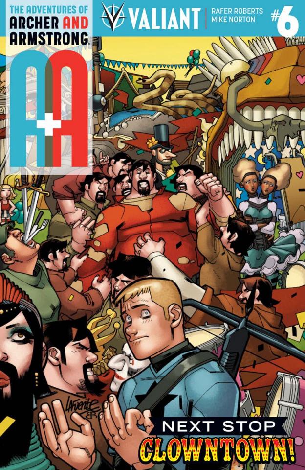 A&A #6 (Lafuente Cover)
