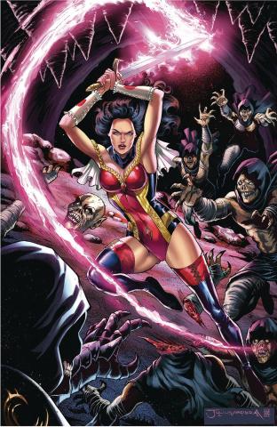 Grimm Fairy Tales #34 (Abrera Cover)