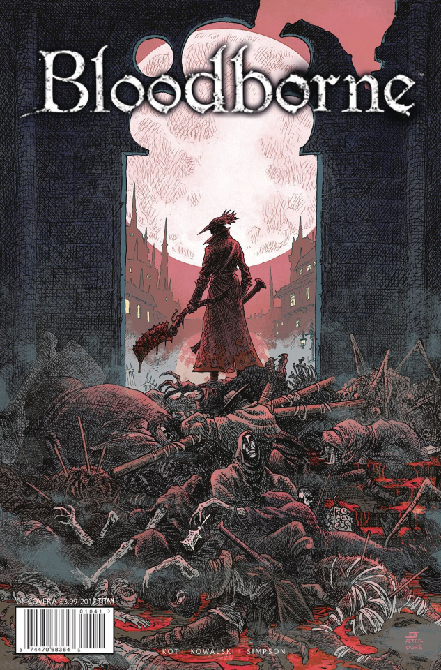 Bloodborne #1 (Stokely Cover)