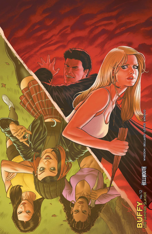 Buffy the Vampire Slayer #12 (25 Copy Quinones Printing)