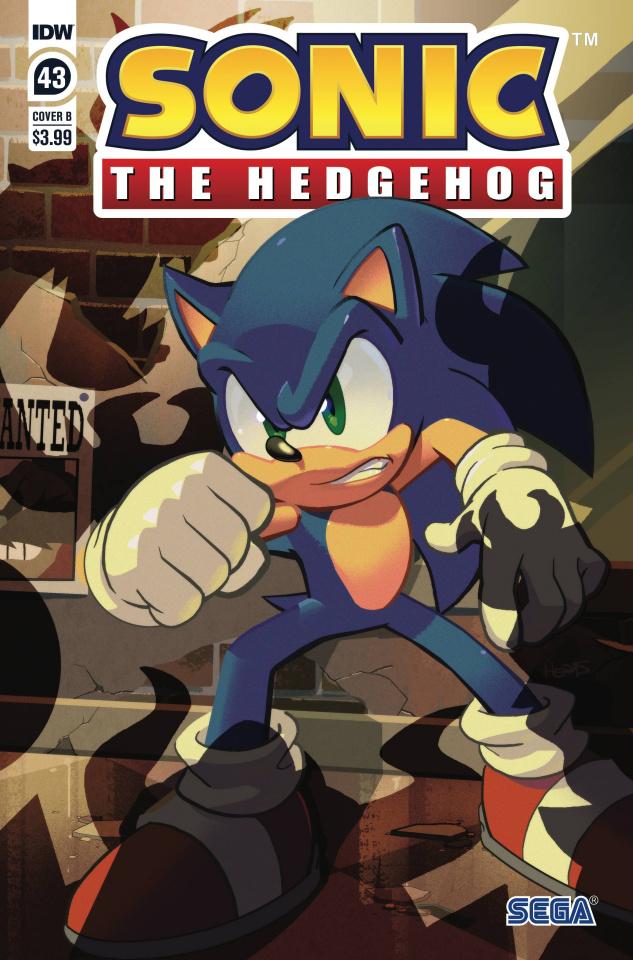 Sonic the Hedgehog #43 (Matt Herms Cover)
