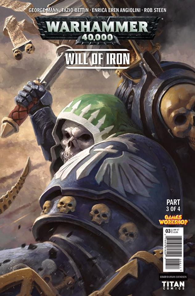 Warhammer 40,000: Will of Iron #3 (Svendsen Cover)