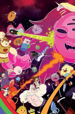 Adventure Time: Regular Show #3 (Main & Mix Cover)