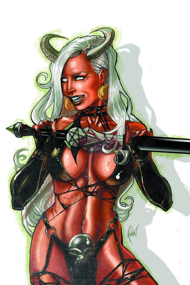 Lady Demon #3 (15 Copy Poulat Virgin Cover)