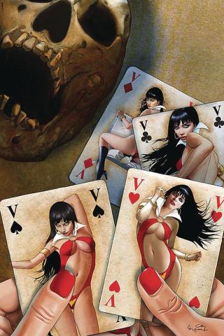 Vampirella #7 (30 Copy Gunduz Virgin Cover)