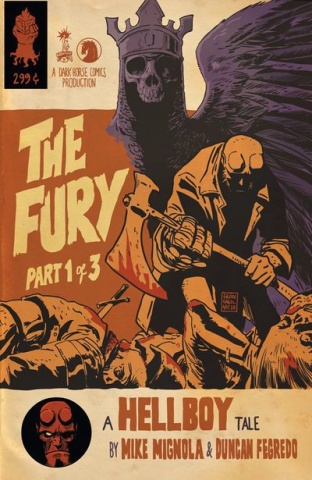 Hellboy: The Fury #1 (Francavilla Cover)