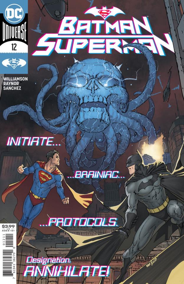 Batman / Superman #12 (David Marquez Cover)