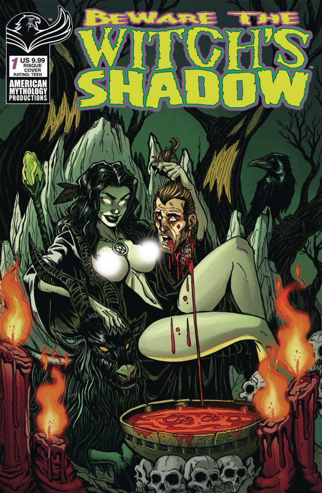 Beware the Witch's Shadow #1 (Risque Cover)