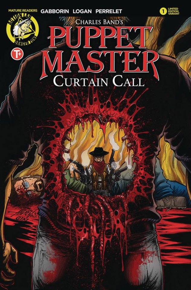 Puppet Master: Curtain Call #1 (Mangum Kill Cover)
