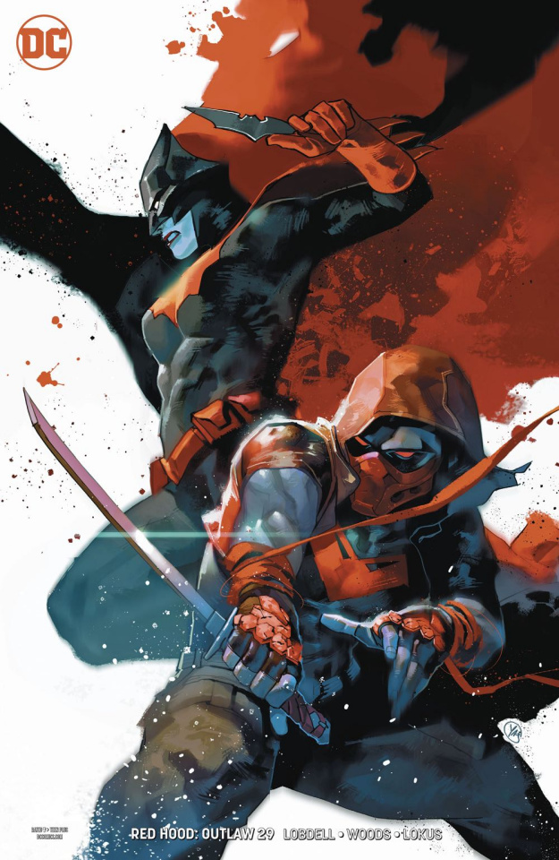 Red Hood: Outlaw #29 (Variant Cover)