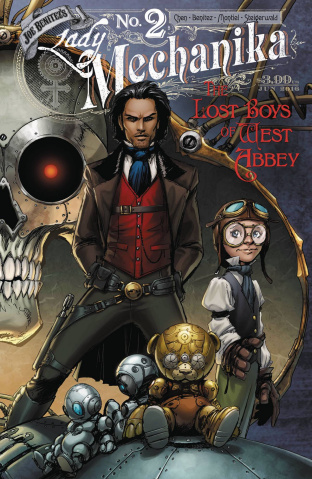 Lady Mechanika: The Lost Boys of West Abbey #2 (10 Copy Cover)
