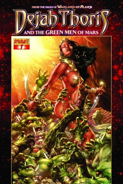 Dejah Thoris & The Green Men of Mars #7