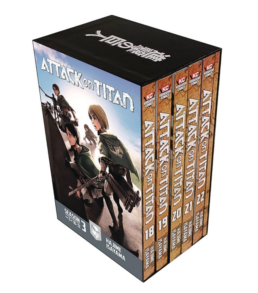 Attack on Titan, Season Three Vol. 2 (Box Set)
