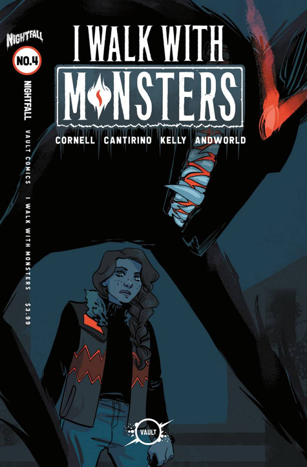 I Walk With Monsters #4 (Hickman Cover)