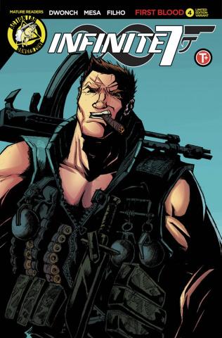 Infinite Seven #4 (Mesa Wolfsberg Cover)
