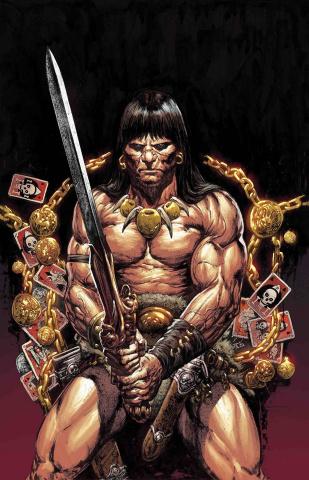 The Savage Sword of Conan #8 (Manco Cover)