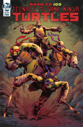 Teenage Mutant Ninja Turtles: Road To 100 #0