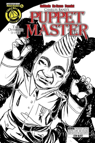 Puppet Master #2 (Tunneler Sketch Cover)