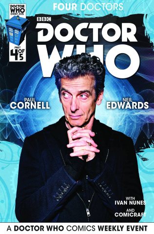 Doctor Who: Four Doctors #4 (Subscription Photo Cover)