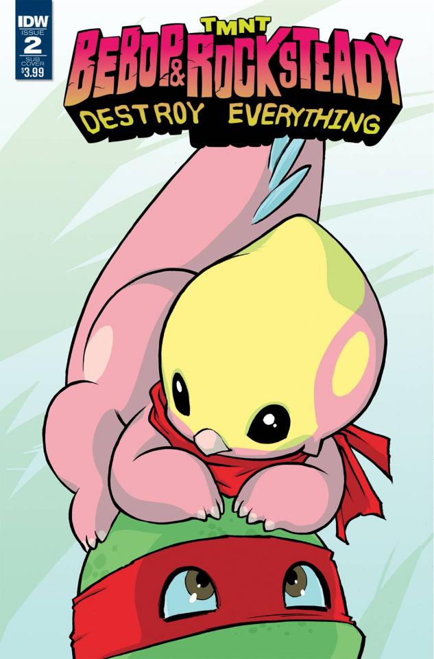 Teenage Mutant Ninja Turtles: Bebop & Rocksteady Destroy Everything #2 (Subscription Cover)