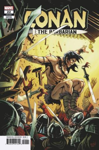 Conan the Barbarian #22 (Schiti Cover)