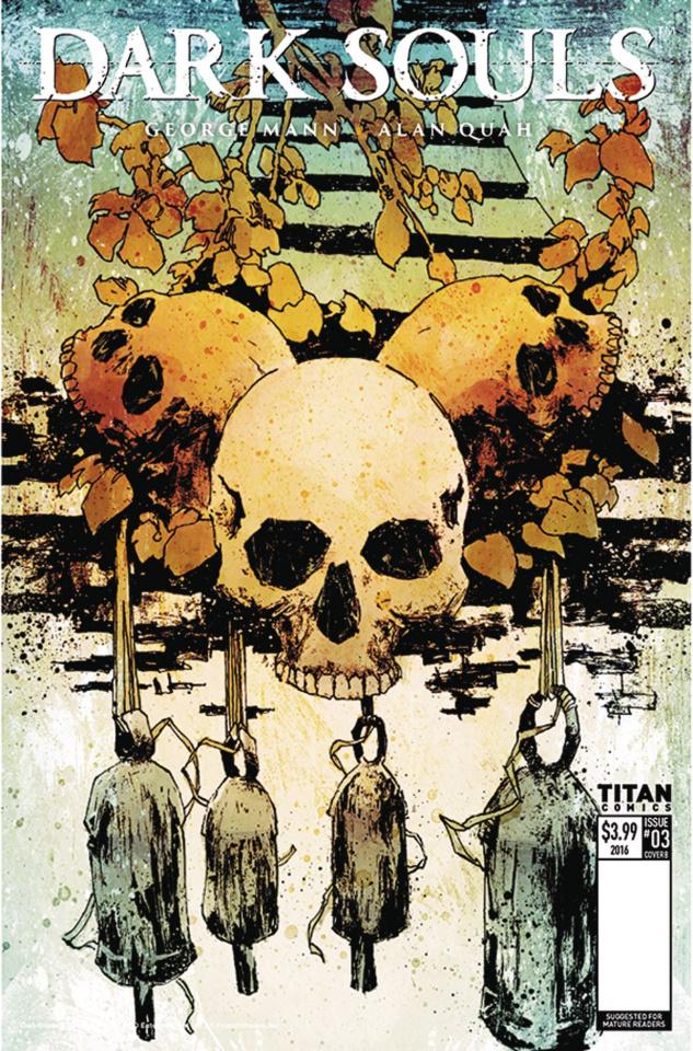 Dark Souls: Winter's Spite #3 (Mitten Cover)