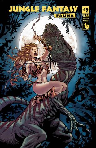Jungle Fantasy: Fauna #2 (Natural Beauty Cover)