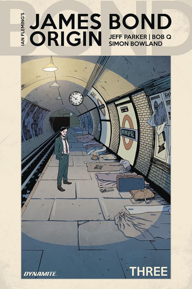 James Bond: Origin #3 (Shalvey Cover)
