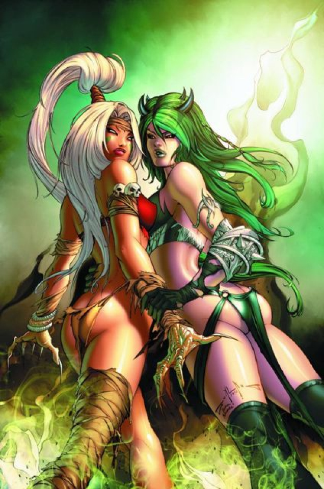 Grimm Fairy Tales: Bad Girls #2 (Qualano Cover)