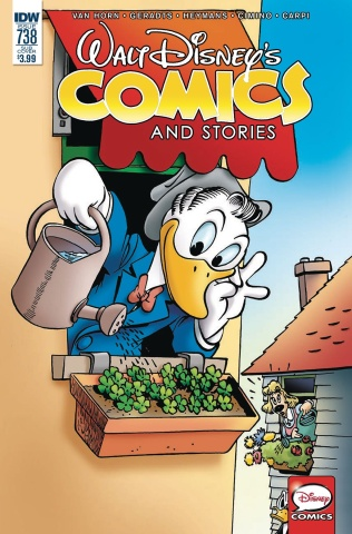Walt Disney's Comics and Stories #738 (Subscription Cover)