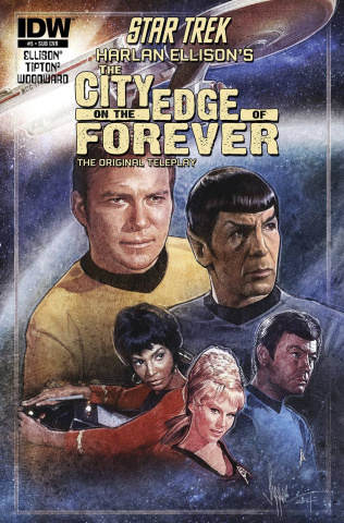 Star Trek: The City on the Edge of Forever #5 (Subscription Cover)