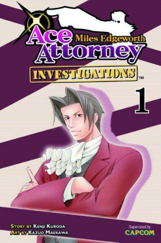 Miles Edgeworth: Ace Attorney Vol. 1