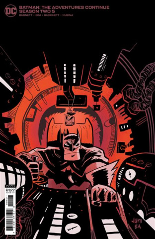 Batman: The Adventures Continue, Season II #5 (Juni Ba Card Stock Cover)
