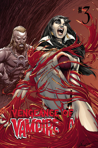 Vengeance of Vampirella #3 (Buzz Cover)