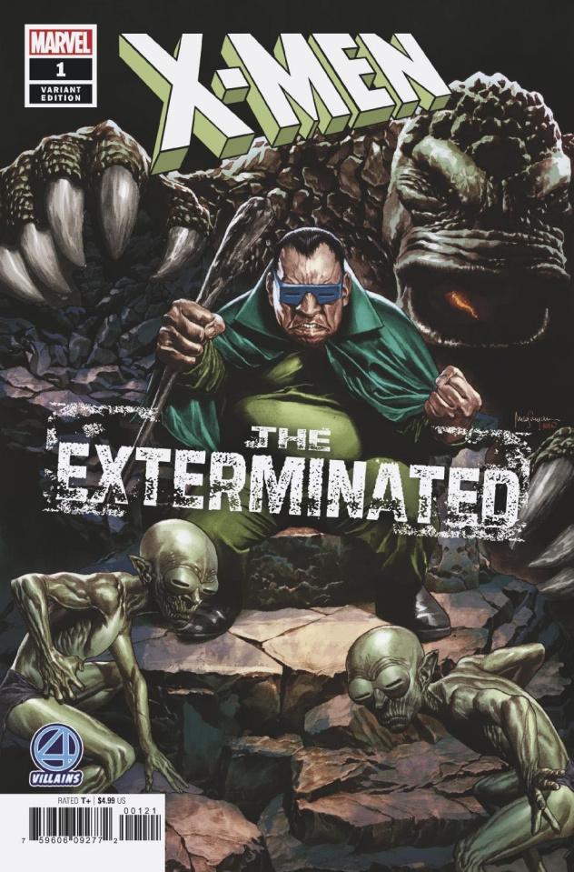 X-Men: The Exterminated #1 (Suayan Fantastic Four Villains Cover)