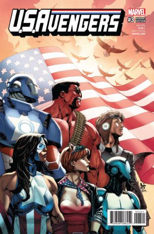 U.S.Avengers #3 (Siqueira Cover)