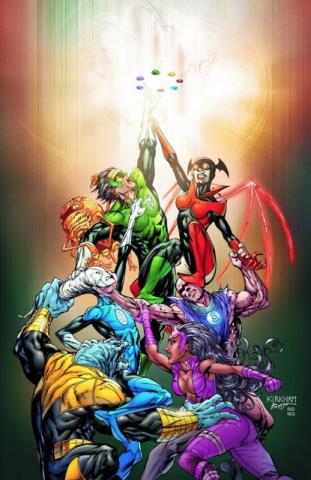 Green Lantern: New Guardians Vol. 1: Ring Bearer
