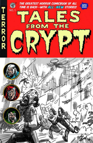 Tales From the Crypt #1 (Camp Cover)