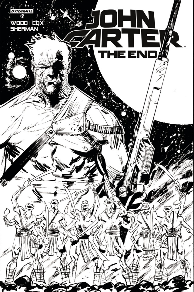 John Carter: The End #2 (10 Copy Brown B&W Cover)
