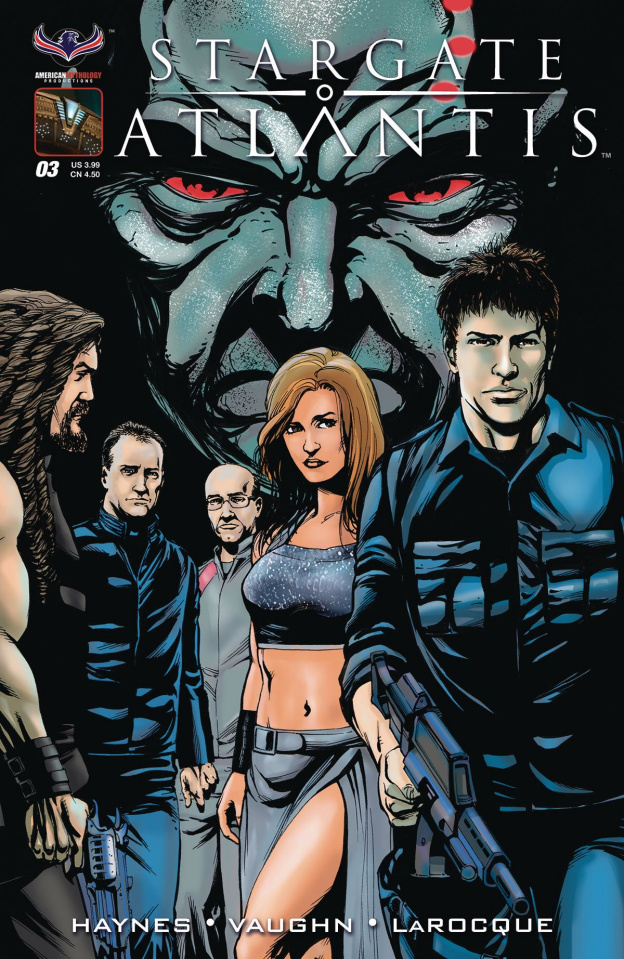 Stargate Atlantis: Back to Pegasus #3 (Laroque Cover)