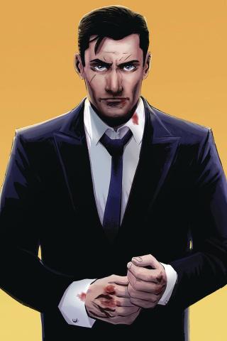 James Bond: 007 #4 (30 Copy Moustafa Virgin Cover)
