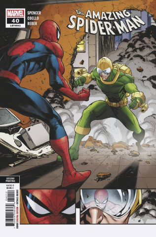 The Amazing Spider-Man #40 (Coello 2nd Printing)