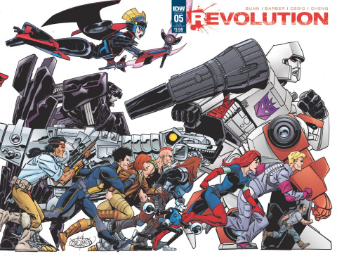Revolution #5 (Subscription Cover)